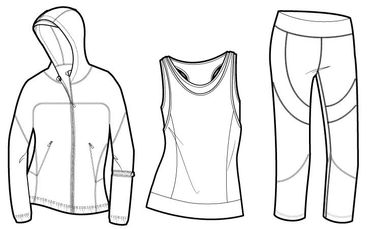 Baste & Gather meets {Sew Heidi}: How Fashion Designers Use Illustrator to Draw Fashion Flats