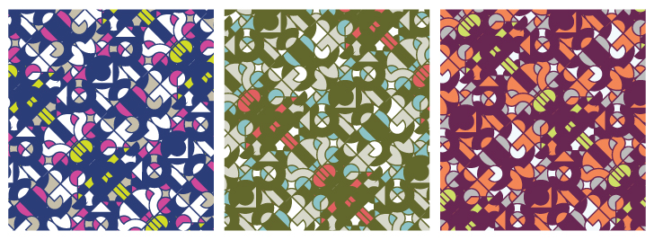 Baste & Gather meets {Sew Heidi}: How Fashion Designers Use Illustrator for Repeating Patterns & Colorways