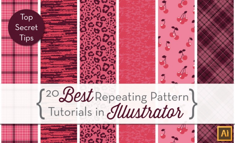 how to create repeating patterns in illustrator