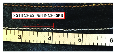 Knitting Number Of Stitches Per Inch : SPI/SPC (Stitches Per Inch / Centimeter)