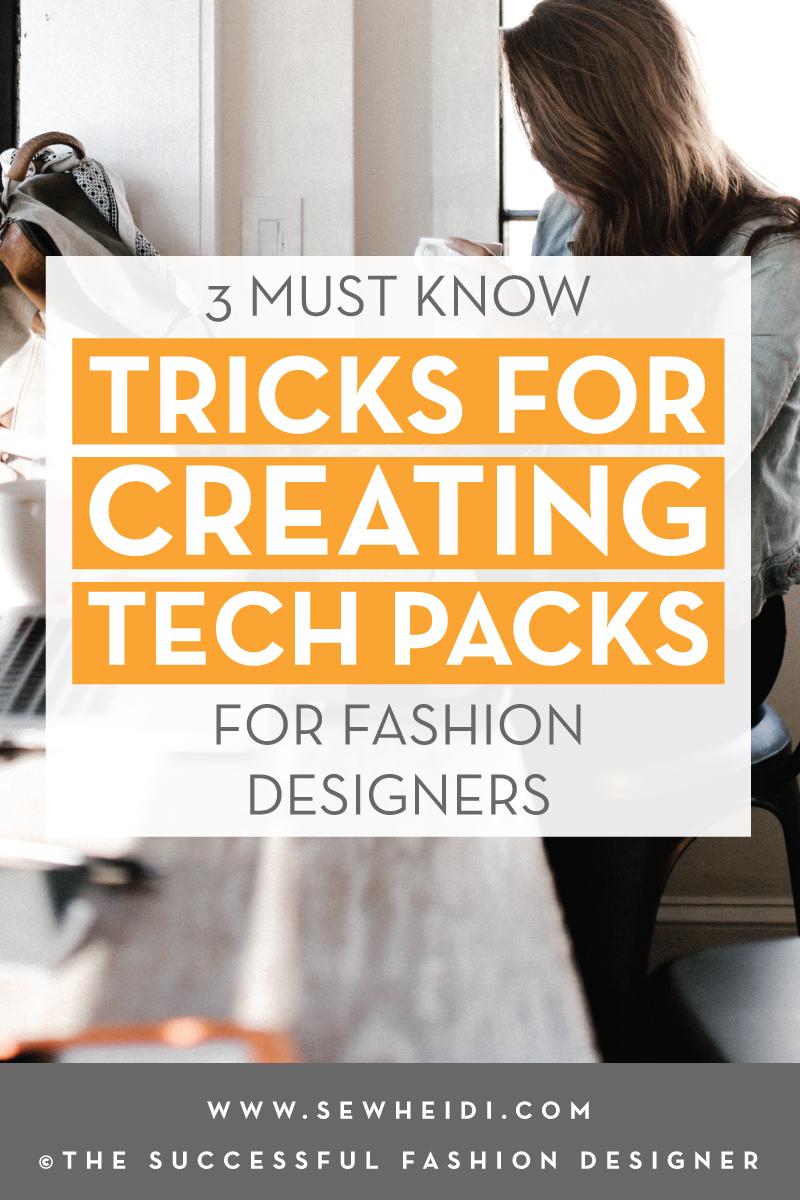 Tech Pack, Spec Sheet & Graded Spec Tricks for Fashion Designers using Adobe Illustrator & Microsoft Excel: The Successful Fashion Designer, tutorial by Sew Heidi