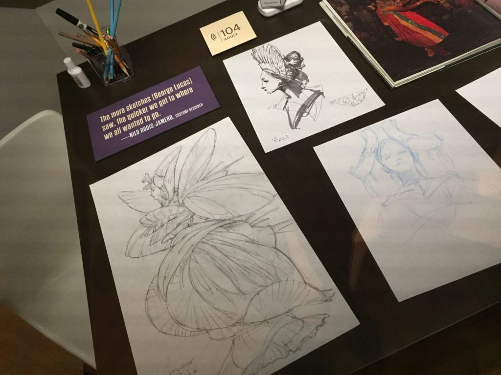 Star wars costume exhibit denver art museum illustrator for Denver art museum concept